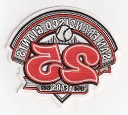 1982 San Francisco Giants 25th Anniversary Jersey Patch Seas