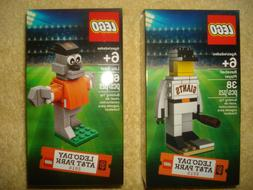 2 San Francisco Giants Lego 2015 Player & 2016 Lou Seal set
