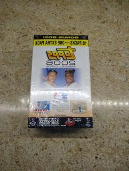 2006 Topps Series 1 Blaster Bonus Box - Sealed 11 Packs - Ca