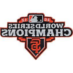 2012 San Francisco Giants Orange Border Jersey Sleeve Logo M