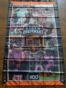 2012 San Francisco Giants World Series Campions Banner Flag