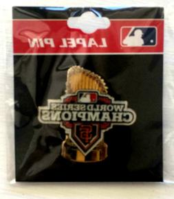 2012 World Series Champions Trophy Logo PIN San Francisco SF