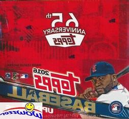 2016 Topps UPDATE Baseball MASSIVE Factory Sealed 24 Pack Re