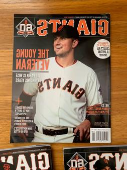 2018 San Francisco Giants Magazines - Bumgarner, Panik, Long