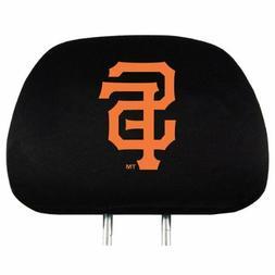 2pc Set MLB San Francisco Giants Car Truck SUV Van Headrest