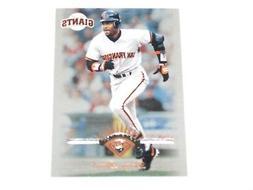 BARRY BONDS SAN FRANCISCO GIANTS #25 1997 DONRUSS #65 CARD M