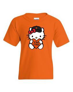 "Brand 'New"" Womens And Kids San Francisco Giants Hello Kitty"