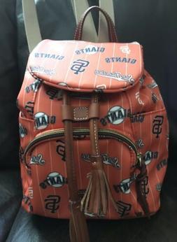 Dooney & Bourke San Francisco Giants Backpack Bag  New MLB B