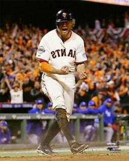 Hunter Pence PASSION San Francisco Giants 2014 World Series