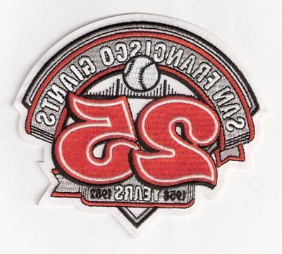 1982 san francisco giants 25th anniversary jersey