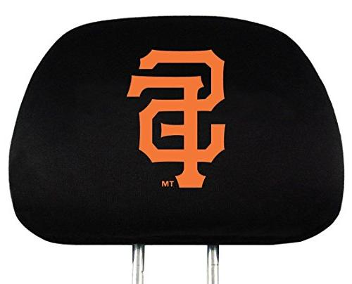 MLB San Francisco Giants Head Rest Covers, 2-Pack
