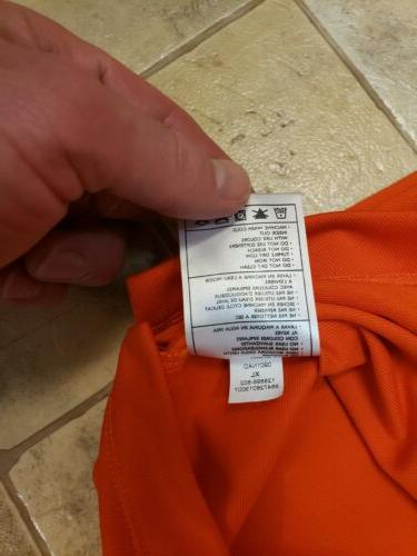 New San Nike Polo Orange