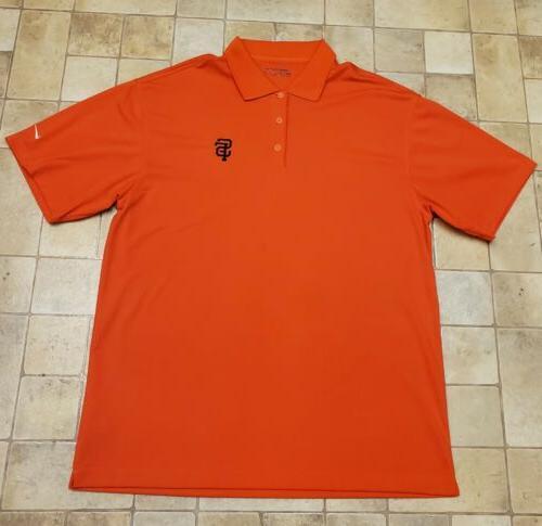 new san francisco giants golf polo xl