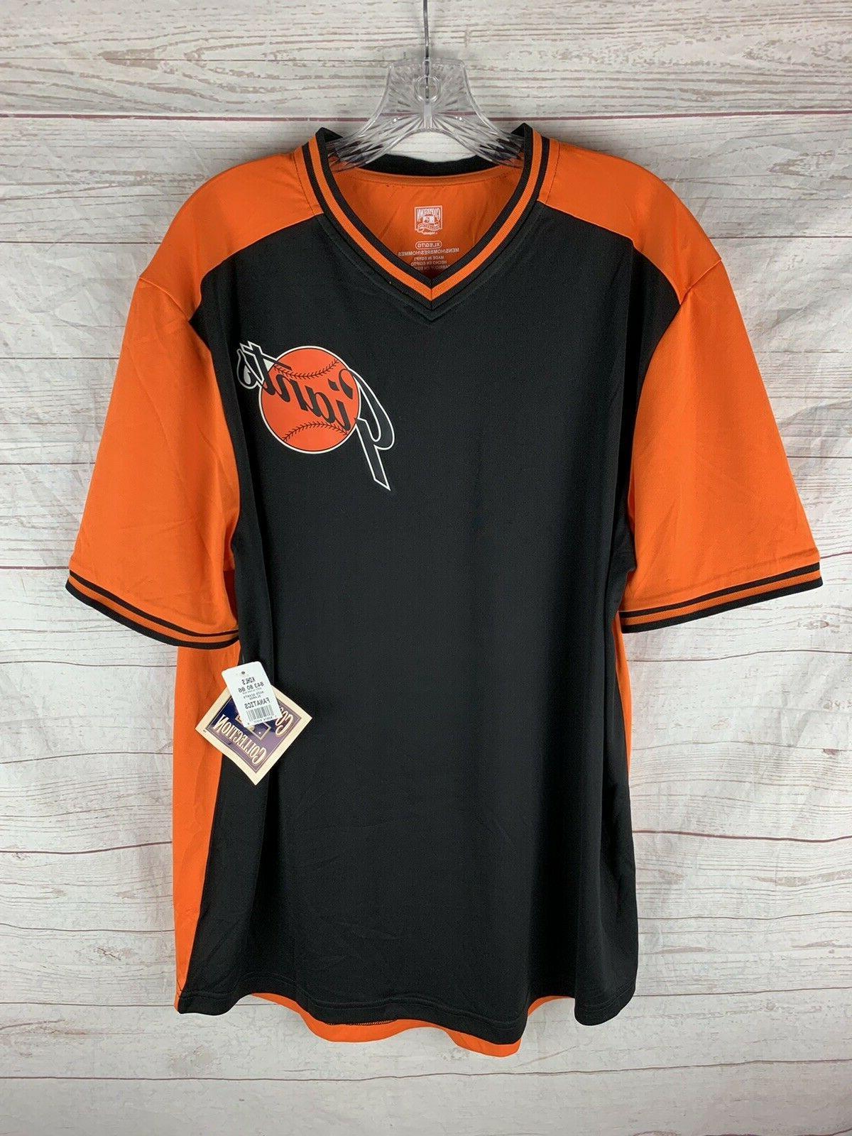new san francisco giants jersey shirt size