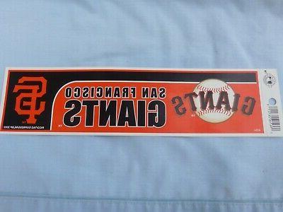 san francisco giants bumper sticker style 10