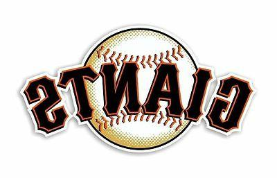 san francisco giants decal sticker die cut