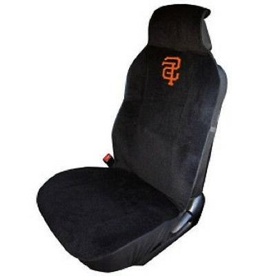 san francisco giants embroidered seat cover new