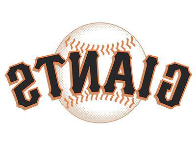 san francisco giants logo baseball car bumper