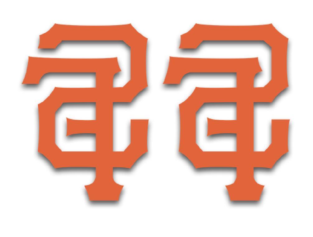 san francisco giants logo vinyl decal sticker