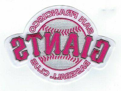 san francisco giants mothers day pink sleeve