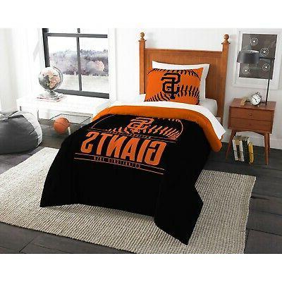 san francisco giants twin comforter set