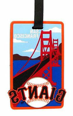 San Francisco Giants - MLB Soft Luggage Bag Tag