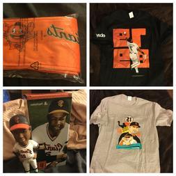 Lot 5 San Francisco SF Giants Shirts, Backpack, Bobblehead,