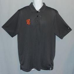 Mens Antigua MLB SF San Francisco Giants Polo Shirt Size L B