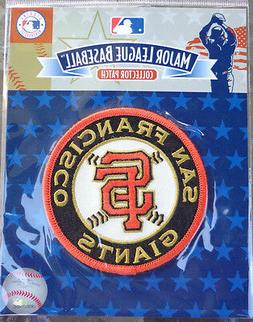 MLB Baseball Emblem Patch San Francisco SF Giants Round Slee