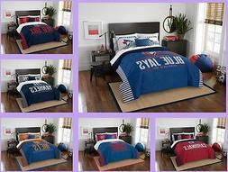 mlb licensed 3 piece full queen comforter