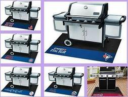 MLB Licensed Barbecue BBQ Grill Mat Vinyl Outdoor Floor Mat