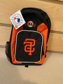 MLB San Francisco Giants Baseball Backpack Orange Black Carr