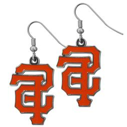 MLB San Francisco Giants Chrome Dangle Earrings