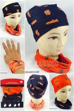 MLB San Francisco Giants Fan Stretch Warp Bracelet/Hair Tie