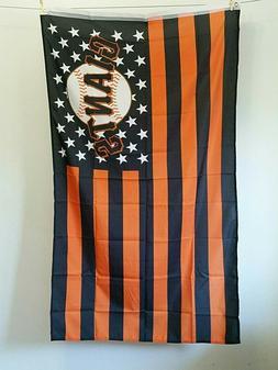 MLB San Francisco Giants Flag 3x5 Banner w/ Grommets Orange