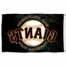MLB San Francisco Giants Large Outdoor 3x5 Banner Flag