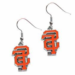 MLB San Francisco Giants Logo Dangler Earrings