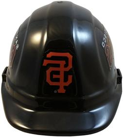 MLB SAN FRANCISCO GIANTS OSHA Approved Hard Hat Ratchet-Pin