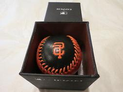 Coach & MLB San Francisco Giants Paperweight Black Orange Le