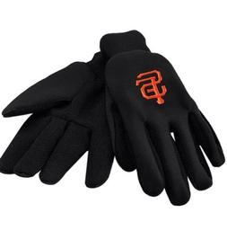 MLB San Francisco Giants Solid Color Utility Gloves, Black