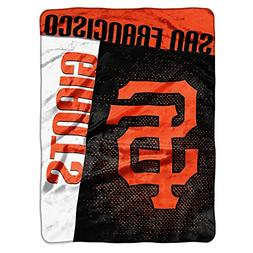 "MLB San Francisco Giants Strike Plush Raschel Throw, 60"" x 8"