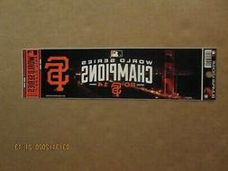 MLB San Francisco Giants Vintage 2014 World Series Champions