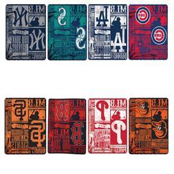 New Baseball League Teams Fleece Throw Blanket Collection 50