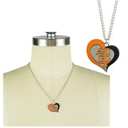 New MLB San Francisco Giants Fashion Jewelry Swirl Heart Cha