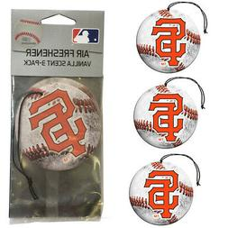 New MLB San Francisco Giants Premium Hanging Air Freshener 3