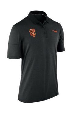 New NWT S/S San Francisco Giants Polo Style Coaches Shirt Me