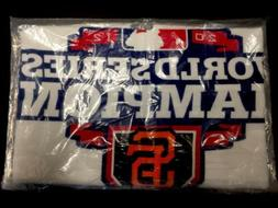 New SF San Francisco Giants 2012 World Series Champions Rall