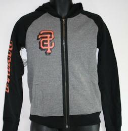 NEW Womens MLB San Francisco Giants '47 Brand Full Zip Up Fl