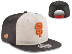 NWT San Francisco Giants MLB New ERA Vintage Waxed Snapback