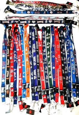 MLB OFFICIAL LANYARD-ID HOLDER,KEYCHAIN KEY RING DETACHABLE